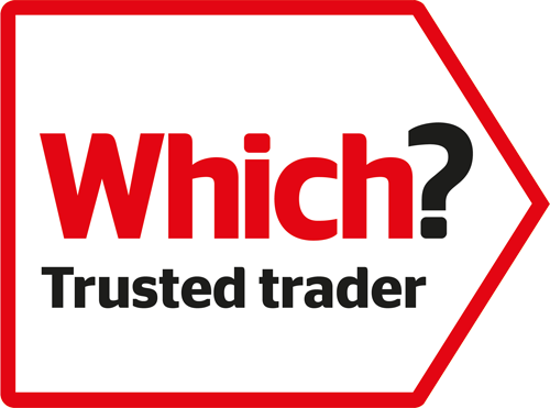 Which? magazine trusted trader logo
